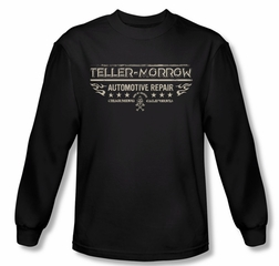Sons Of Anarchy Shirt Teller Morrow Long Sleeve Black Tee T-Shirt