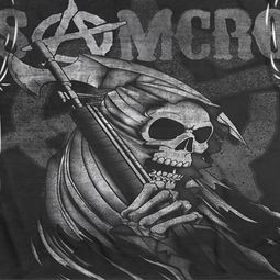 Sons Of Anarchy Somcro Reaper Sublimation Shirts