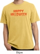 Spooky Happy Halloween Pigment Dyed T-shirt
