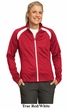 Sport Tek Ladies Jacket Tricot Track Athletic Sport Outerwear