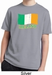 St Patrick's Day Distressed Ireland Flag Kids Moisture Wicking Shirt