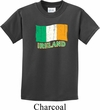 St Patrick's Day Distressed Ireland Flag Kids Shirt