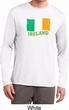 St Patrick's Day Distressed Ireland Flag Mens Dry Wicking Long Sleeve