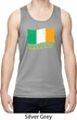 St Patrick's Day Distressed Ireland Flag Mens Moisture Wicking Tanktop
