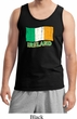 St Patrick's Day Distressed Ireland Flag Mens Tank Top