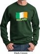St Patrick's Day Distressed Ireland Flag Sweatshirt