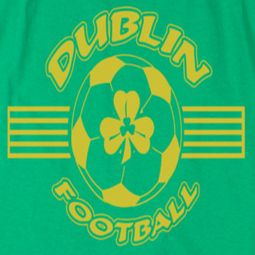 St. Patrick's Day Dublin Football Shirts