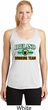 St Patrick's Day Ireland Drinking Team Ladies Dry Wicking Racerback