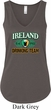 St Patrick's Day Ireland Drinking Team Ladies Flowy V-neck Tanktop