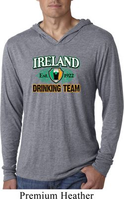 Mens St Patricks Day Shirt Ireland Drinking Team Est 1922 Sweatshirt