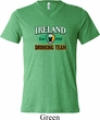 St Patrick's Day Ireland Drinking Team Mens Tri Blend V-neck Shirt
