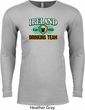 St Patrick's Day Ireland EST 1922 Drinking Team Long Sleeve Thermal