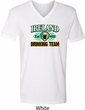 St Patrick's Day Ireland EST 1922 Drinking Team Mens V-Neck Shirt