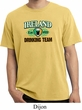 St Patrick's Day Ireland EST 1922 Drinking Team Pigment Dyed Shirt