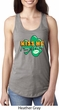 St Patrick's Day Kiss Me I'm Irish Ladies Ideal Tank Top