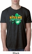 St Patrick's Day Kiss Me I'm Irish Mens Burnout Shirt