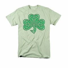 St. Patrick's Day Shirt Celtic Shamrock Adult Athletic Heather Tee T-Shirt