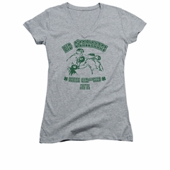 St. Patrick's Day Shirt Juniors V Neck Kid O'Callahan's Athletic Heather Tee