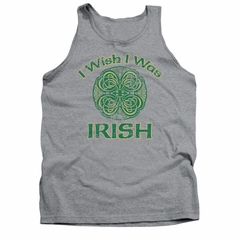 St. Patrick's Day Tank Top Irish Wish Athletic Heather Tanktop
