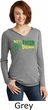 St Patricks Day 10% Irish 90% Drunk Ladies Tri Long Sleeve Hoodie
