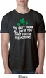 St Patricks Day Drink All Day Burnout Shirt