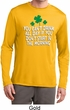 St Patricks Day Drink All Day Dry Wicking Long Sleeve