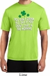 St Patricks Day Drink All Day Dry Wicking T-shirt