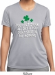 St Patricks Day Drink All Day Ladies Dry Wicking T-shirt