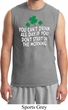 St Patricks Day Drink All Day Muscle Shirt