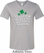 St Patricks Day Drink All Day Tri Blend V-neck