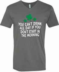 St Patricks Day Drink All Day V-neck