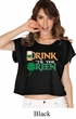 St Patricks Day Drink Til Yer Green Ladies Boxy Tee