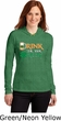 St Patricks Day Drink Til Yer Green Ladies Long Sleeve Hooded Shirt