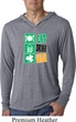 St Patricks Day Eat Drink Be Irish Lightweight Hoodie Tee T-Shirt