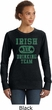 St Patricks Day Irish Drinking Team Ladies Crewneck Sweatshirt