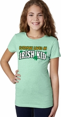 St Patricks Day Irish Kid Girls T-shirt