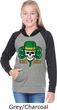 St Patricks Day Irish Pride Girls Long Sleeve Hoodie