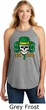 St Patricks Day Irish Pride Ladies Tri Rocker Tank Top