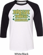 St Patricks Day Irish Today Hungover Raglan Shirt