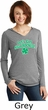 St Patricks Day Lets Get Shamrocked Ladies Tri Hoodie