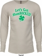 St Patricks Day Lets Get Shamrocked Thermal Shirt