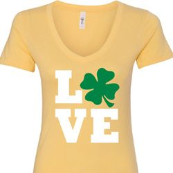 St Patricks Day Love Shamrock Shirts