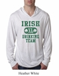 St Patricks Day Mens Shirt Irish Drinking Team Lightweight Hoodie Tee