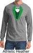 St Patricks Day Mens Shirt Irish Tuxedo Long Sleeve Tee T-Shirt