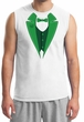 St Patricks Day Mens Shirt Irish Tuxedo Muscle Tee T-Shirt