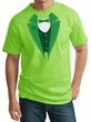 St Patricks Day Mens Shirt Irish Tuxedo Tall Tee T-Shirt