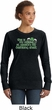 St Patricks Day Official Drinking Shirt Ladies Crewneck Sweatshirt