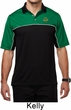 St Patricks Day Shamrock Patch Polo Shirt