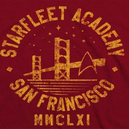Star Trek Academy San Francisco Shirts