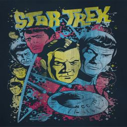 Star Trek Comic Illustration Shirts